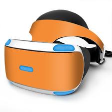 Skin Wrap for Sony Playstation PSVR Headset Solid Orange