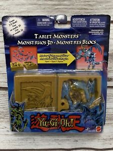 YU-GI-OH 3D TABLET MONSTERS MASTER OF DRAGON ACTION FIGURE TOY RARE PACKAGING