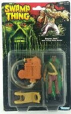 Antiguo ☆ Swamp Thing Bayou Jack Figura de Acción ☆ Moc Cardado Sellada 90s Kenner