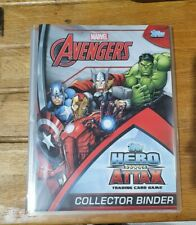 Topps Hero Attax Marvel Avengers complete set 208 cards + specials, binder etc
