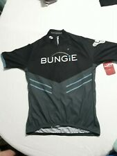 Sugoi Bungie Destiny Cycling Jersey Men's Small S/P Black Blue