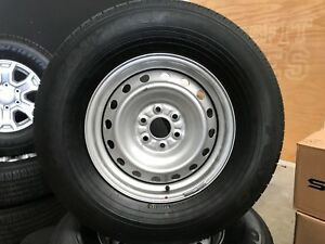 "2017 Nissan Navara D23 Factory Wheels Tyres 255/70 16"" Inch Steel Pursuit Rims"