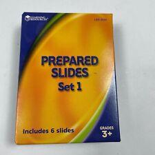 Learning Resources Prepared Slides Set 1 Grades 3+ #LER 2039 6 Slides +1 Bonus