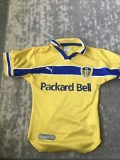 Leeds United Football Shirt Puma Retro Size 22/24�