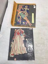 RARE VINTAGE LANA TURNER PAPER DOLLS - 1942 - CUT SET WITH CLOTHES