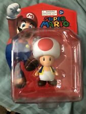 Nintendo Super Mario Large Action Figure Collection TOAD Collectible NEW NIB