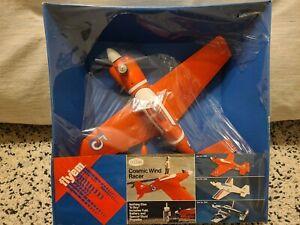 Testors Cosmic Wind Racer vintage (1976) new-old-stock .049 engine plane NIB