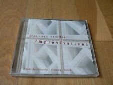 Jean-Louis Feiertag : Improvisations - Orgue du Christ-Roi, Libourne - CD NEUF