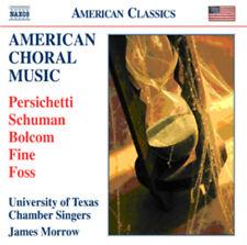 Vincent Persichetti : American Choral Music CD (2010) ***NEW***