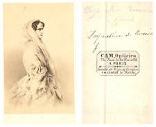 L'impératrice de Russie Alexandra Feodorovna, épouse du tsar Nicolas Ier CD