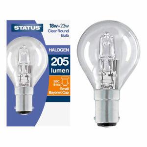 Status Halogen globe round sbc 18w=23w x 10 bulbs