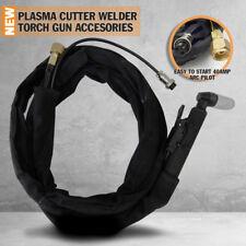 40A Plasma Cutting Welder Torch Gun & Lead Cutter Machine Accessories