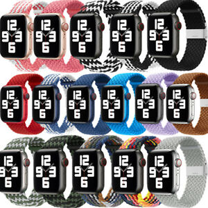 Für Apple Watch Series 6/5/4/3/2/1 Nylon Watch Band Strap 38mm/40mm/42mm/44mm