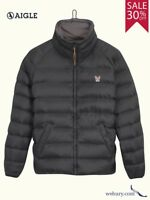 Aigle Mens Lightweight Water Resistant Down-Filled Jacket sizes S-3XL **SALE**