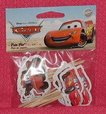 Cars,Mater,Cupcake Fun Picks/Pix,Wilton,Decoration,Multi-Color,2113-6402, Cake