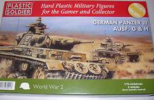 WW2V20010 plastic soldier company 1:72 - german panzer iii ausf. g et h