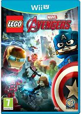 LEGO Marvel Avengers (Nintendo Wii U) NEW & Sealed