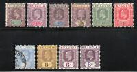 Saint Lucia - (10) Edward VII / MH & Used   -   Lot 0420067