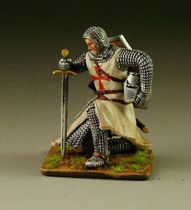 EAGLE MINIATURES CRUSADERS & SARACENS TEM007 TEMPLAR KNEELING WITH SWORD