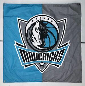 "NEW Pottery Barn TEEN Dallas Mavericks NBA Team 51"" Tapestry~Hanging Wall Decor"