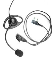 D-Ear With Boom Microphone for Mitex 2-Pin Radios