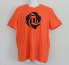 NWT~Adidas D ROSE 3 LOGO Basketball Tee-jersey Derrick T Shirt top gym~Men sz XL