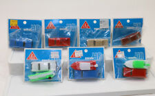 Lot 7 packages EKO Boats & Cars HO 1:87 scale misc colors