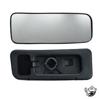 MERCEDES SPRINTER DRIVERS SIDE WING MIRROR GLASS LOWER WIDE BLIND SPOT 2006-