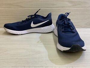 Nike Revolution 5 BQ3204-400 Running Shoe - Men's Size 11.5M, Navy