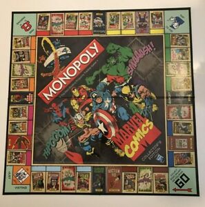 Monopoly Marvel Comics Edition Gameboard