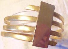 CARDIN,BRACELET DE DÉFILÉ - en métal  année 70  - Pierre Cardin -N°4