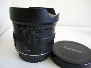 Canon EF 15mm f2.8 Fish-Eye Lens - AF EOS DSLR