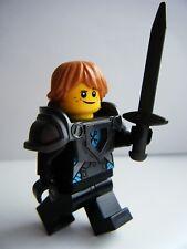 LEGO NEXO KNIGHTS BLACK KNIGHT TEENAGE ROBIN MINIFIGURE KNIGHTON CASTLE