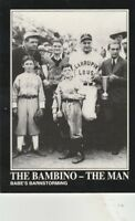 FREE SHIPPING-MINT-1992 Megacards #128 BABE RUTH COLLECTION-THE BAMBINO-THE MAN
