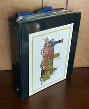 Railway Railroad Train Postal History Collection - Maps Postcards RPO's Covers +