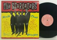 The Stargazers ‎– Rock That Boogie LP 1993 UK ORIG Vinyl Japan ROCKABILLY JIVE