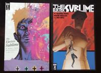 THE ELECTRIC SUBLIME # 1 & 2 BUNDLE  IDW COMICS. BAGGED/BOARDED