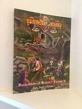 Hackmaster Hacklopedia of Beasts volume II (2), RPG