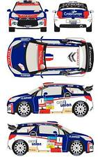1/43 Decal Citroen DS3 WRC #1 Rally du Chablais 2013