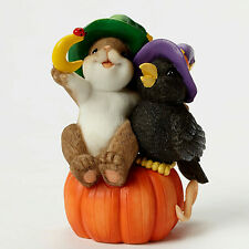 Charming Tails~Magic Of Friendship Crow Closer~Figure.~Pumpkin~Ha lloween~4046777