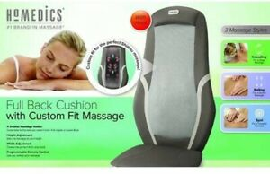 HoMedics MCS-490H Full Back Cushion with Custom Fit Massage