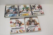 PS3 Set of Madden 08,09,10,11,12 (FREE SHIP!)