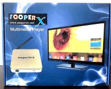 SOOPER X 4K TV HIGH QUALITY PICTURE ARABIC,INDIAN, PAKISTAN,BANGLA,AFGHAN,SOMALI