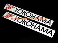 "2x 12"" 30.5cm YOKOHAMA decal sticker advan sport tire tyre d1 drift WTCC vinyl r"