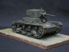 SPANISH CIVIL WAR T26 PRO BUILT AND PAINTED 1/35 MODEL  GUERRA CIVIL Española