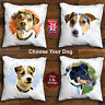 Jack Russell Terrier Cushion Cover, Handmade Cushion Cover, Choose Your Dog