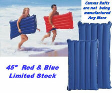 "Canvas Raft Surf mat 45"" Intex Wave Ride Raft Tube Float 59194EP Beach Swim pool"
