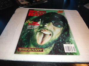 WWF WWE RAW Magazine january 1999 the year in review w/poster