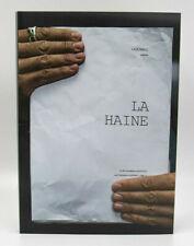 Mathieu Kassovitz x JR - La Haine, facsimilé couleur du scénario - signé
