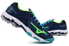 Mizuno WAVE LIGHTNING Z4 Badminton Shoes Table Tennis Green Indoor V1GA180036